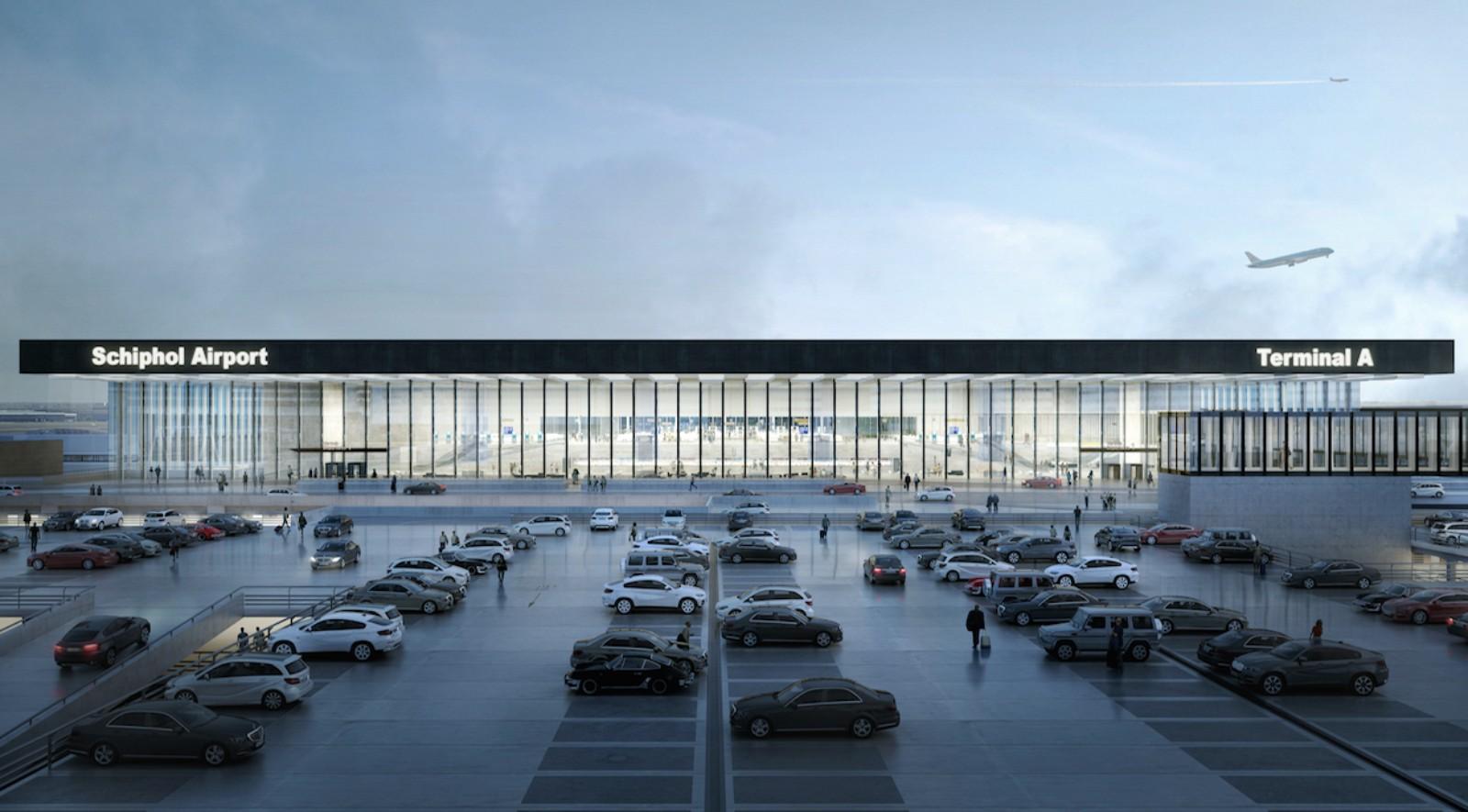 Amsterdam Airport Schiphol Terminal
