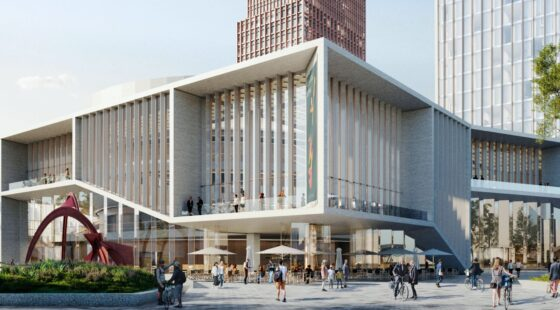 New cultural building and district for Bratislava