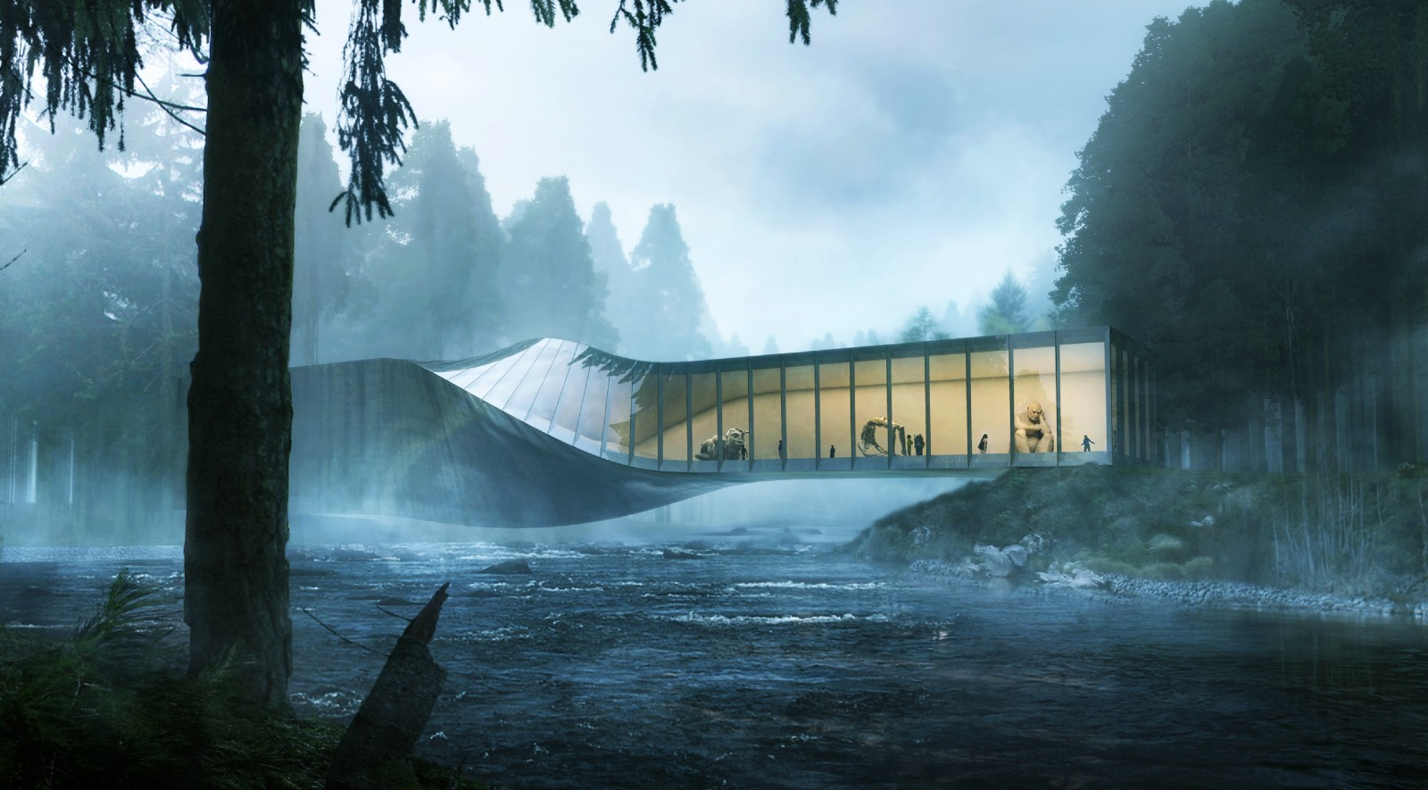 Kistefos museum by bjarke ingels group for Big bjarke ingels group