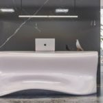 Kanda Reception Desk by Nüvist