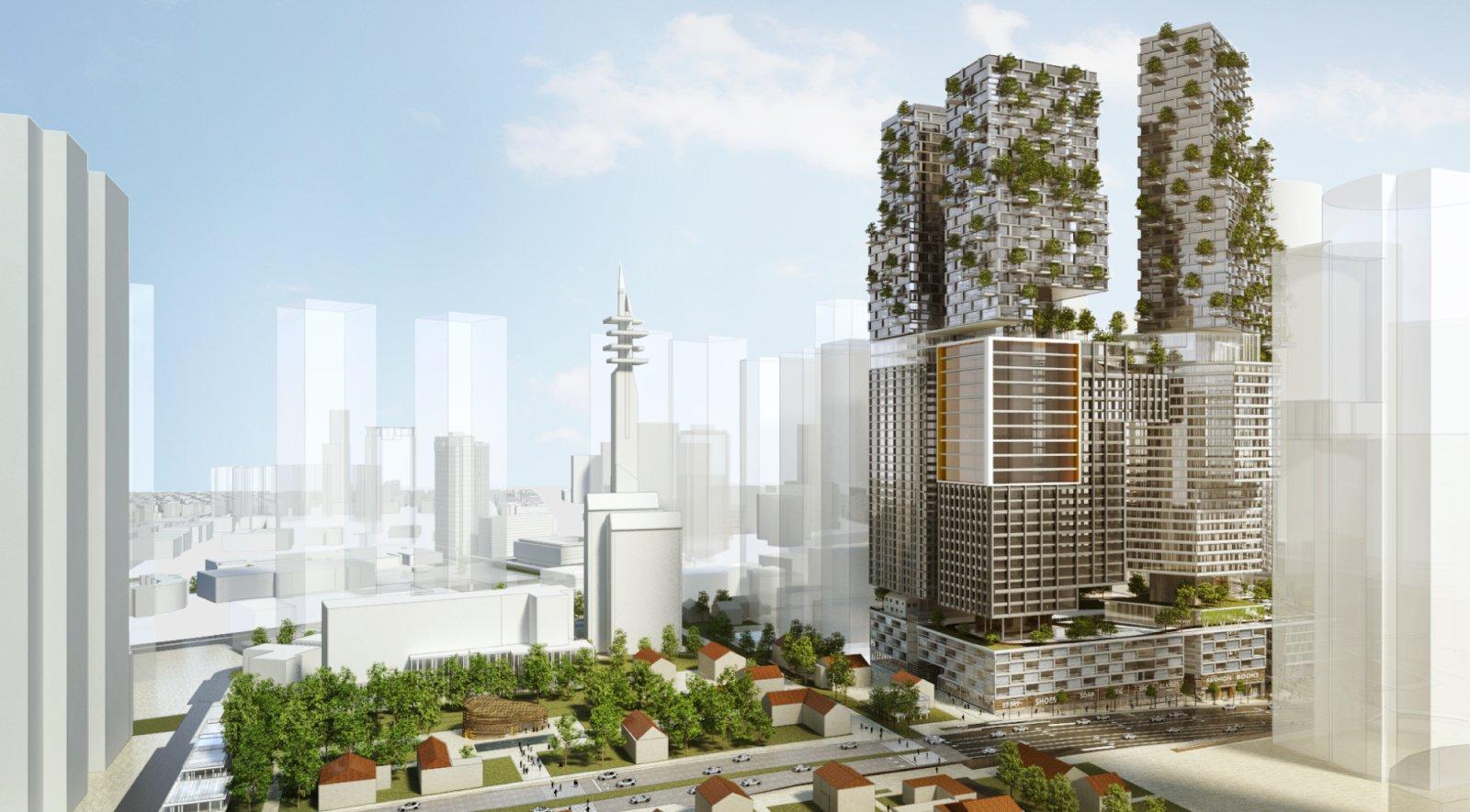 Kaplan north masterplan by kimmel eshkolot architects for Architecture kapla
