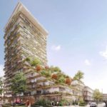Kengo Kuma and Koichi Takada Architects win competition for 19-storey residential tower in Sydney's Waterloo