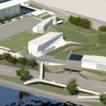 Go-Ahead Kennedy Center Expansion Pedestrian Bridge by Steven Holl Architects
