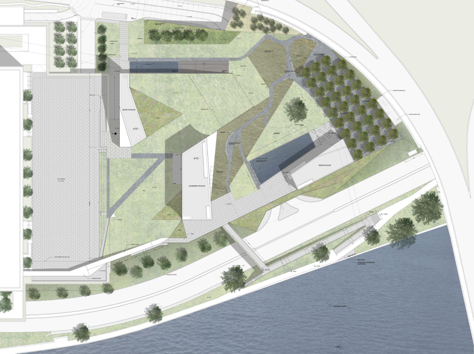 Go-Ahead Kennedy Center Expansion Pedestrian Bridge