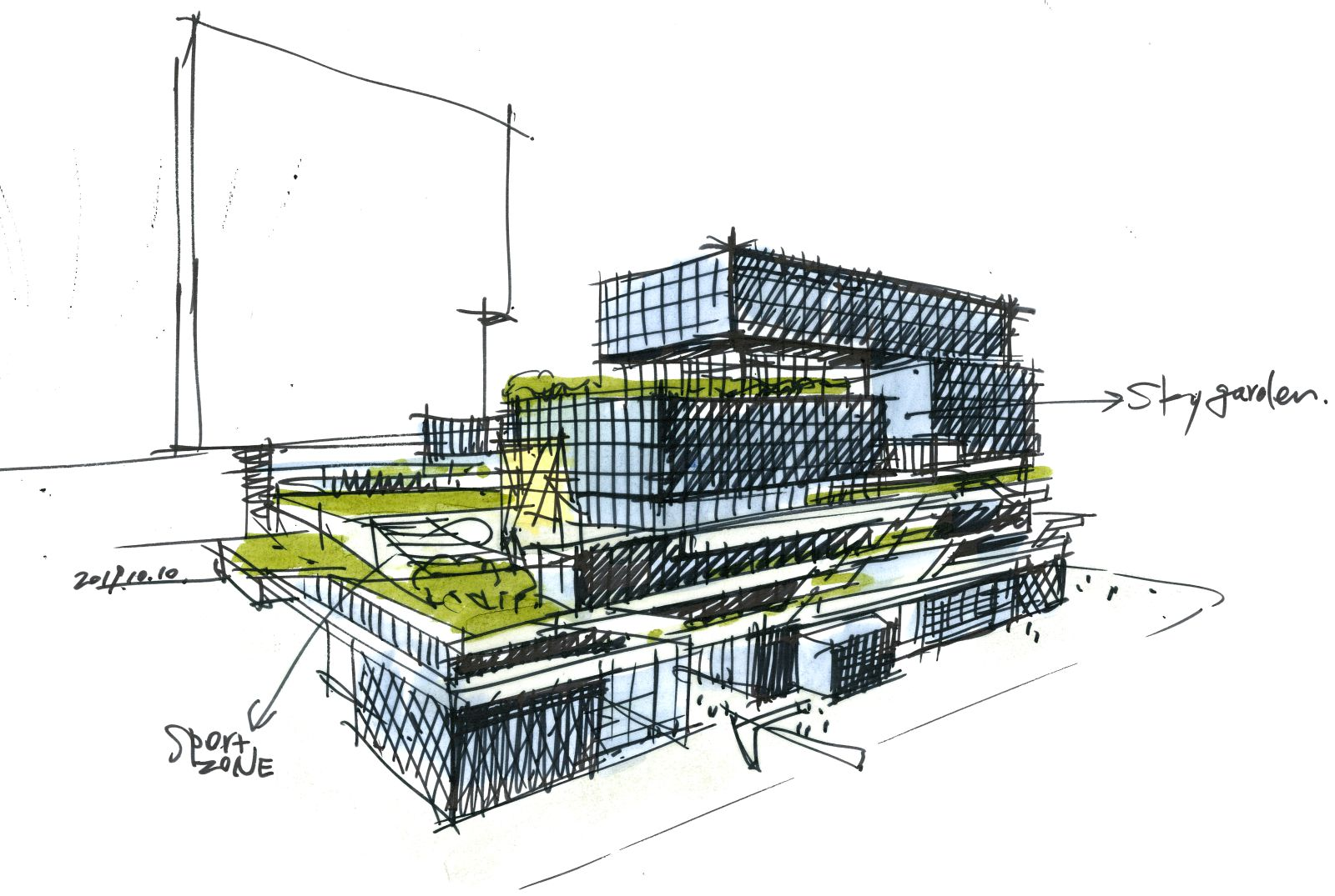 new urban complex