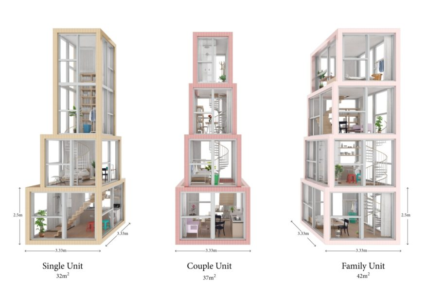 Hong Kong Pixel Homes