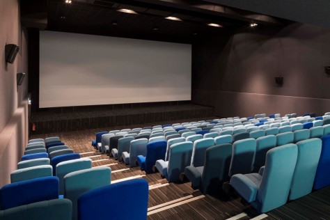 Le Cristal Cinema and Michel Crespin Square