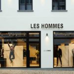 Les Hommes opens in Antwerp a new flagship store by Piuarch