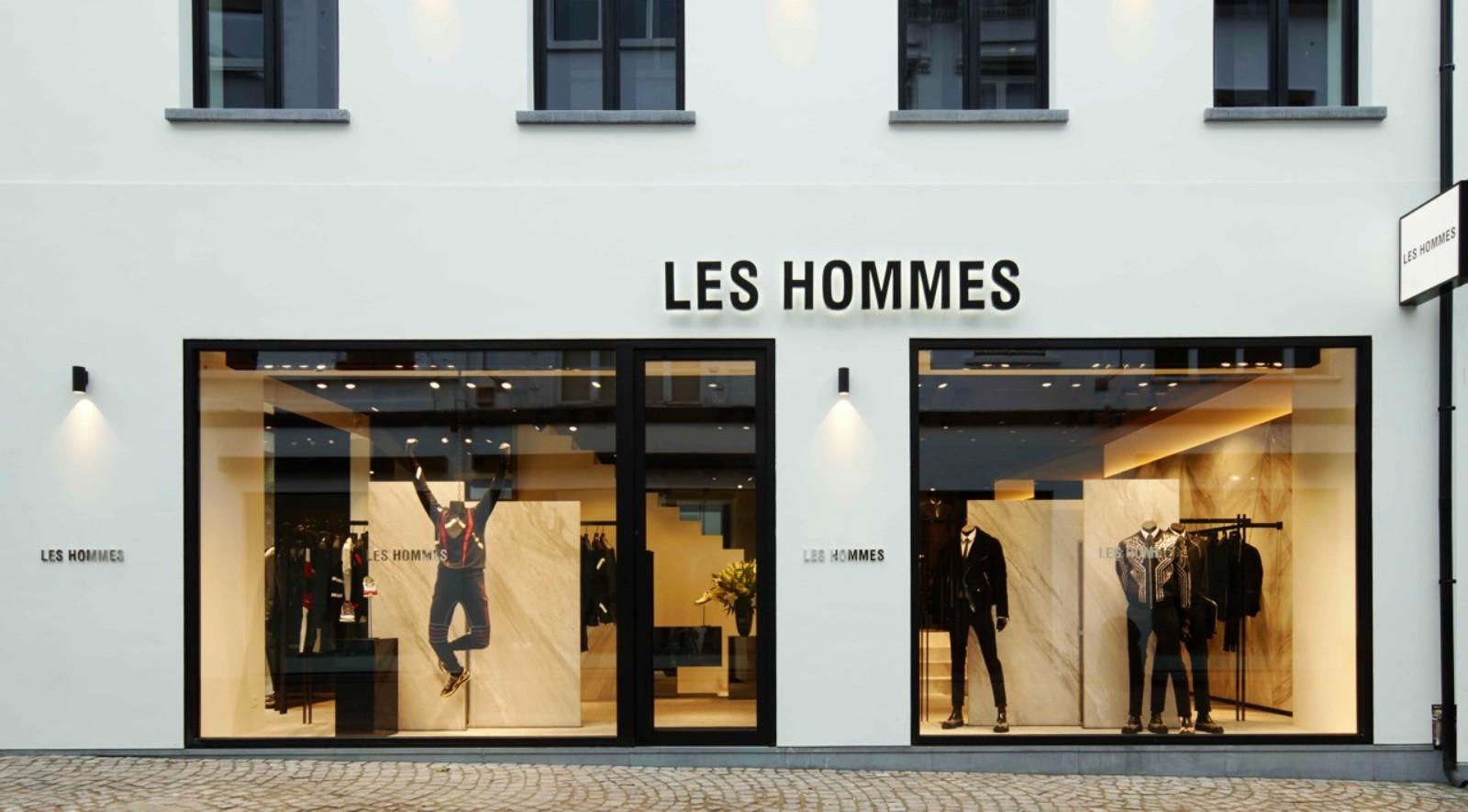 Les Hommes in Antwerp