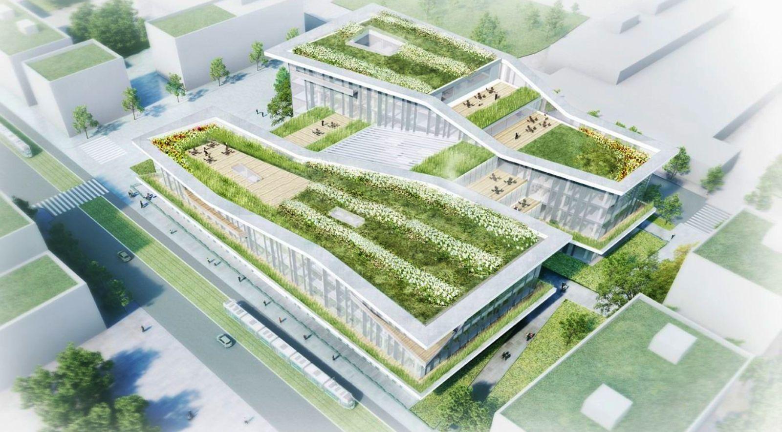 Library Campus Condorcet