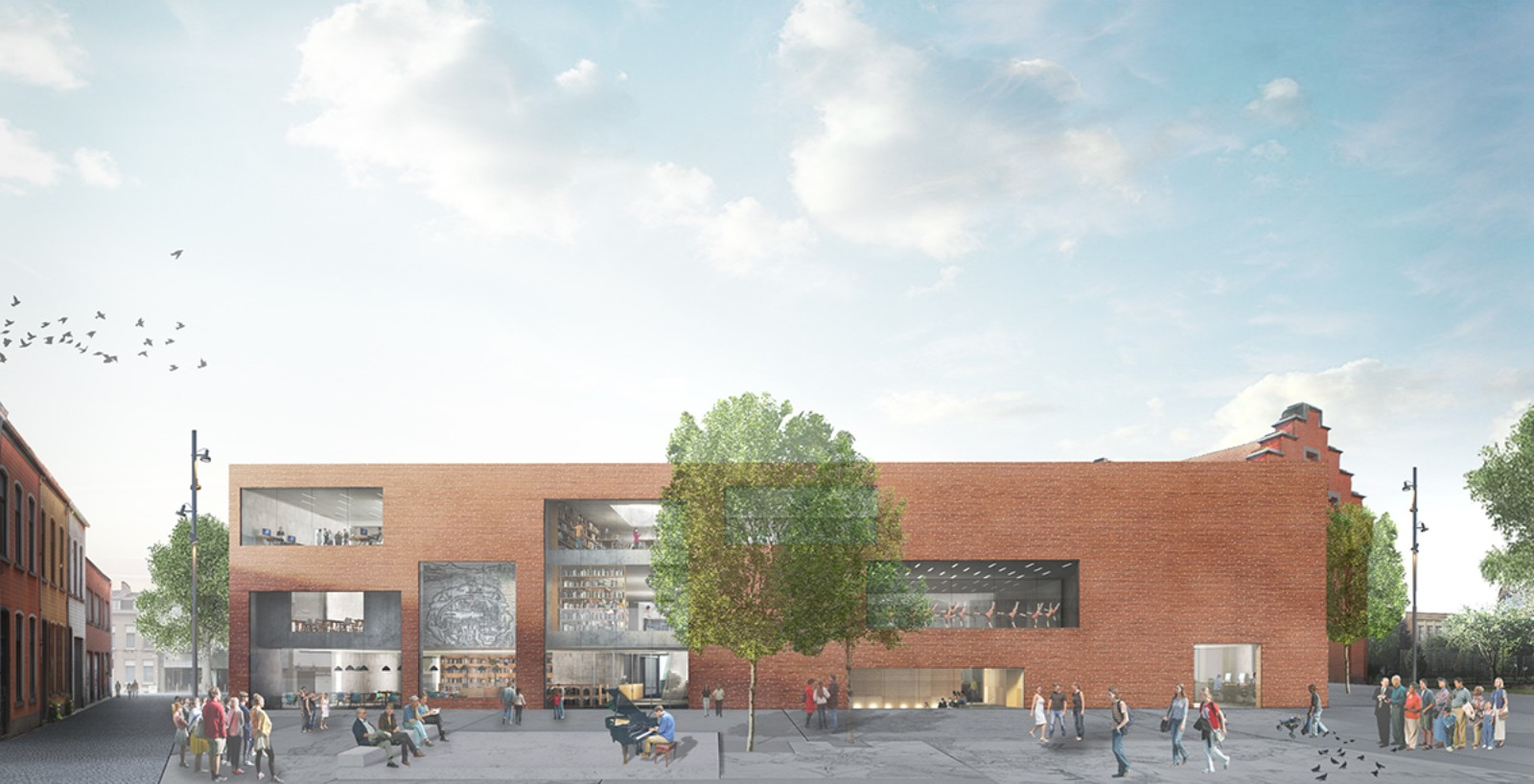 Library & Academy for Performing Arts Pupillensite