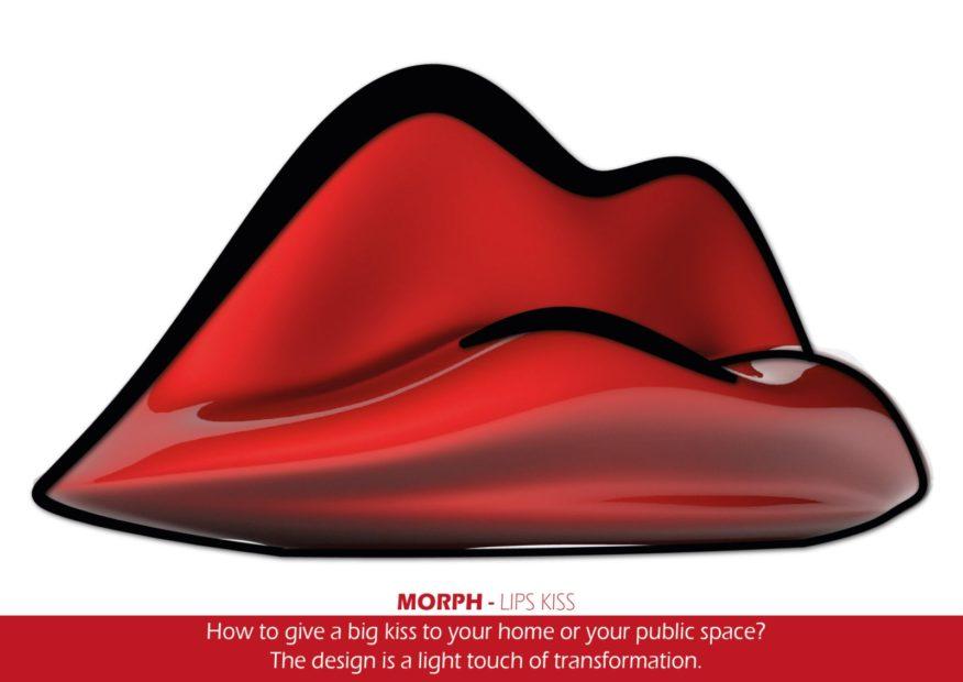 Lips Bench