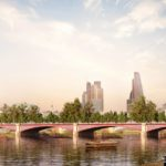 London's proposed Garden Bridge by Allies and Morrison Studios