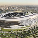 Los Angeles Stadium by Manica Architecture