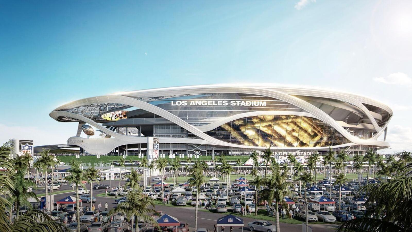 Los angeles stadium by manica architecture 02 for La architecture