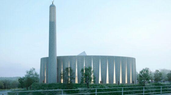 new mosque in Preston