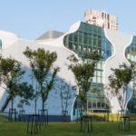 Lucas K. Doolan photographs Toyo Ito's Taichung Metropolitan Opera House