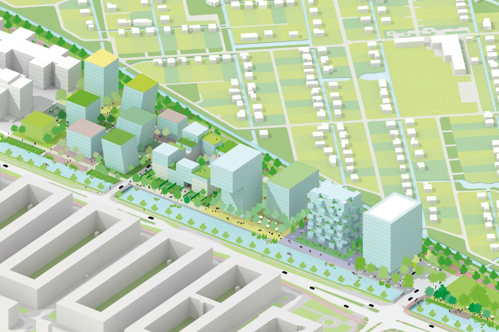 Green Residential Area