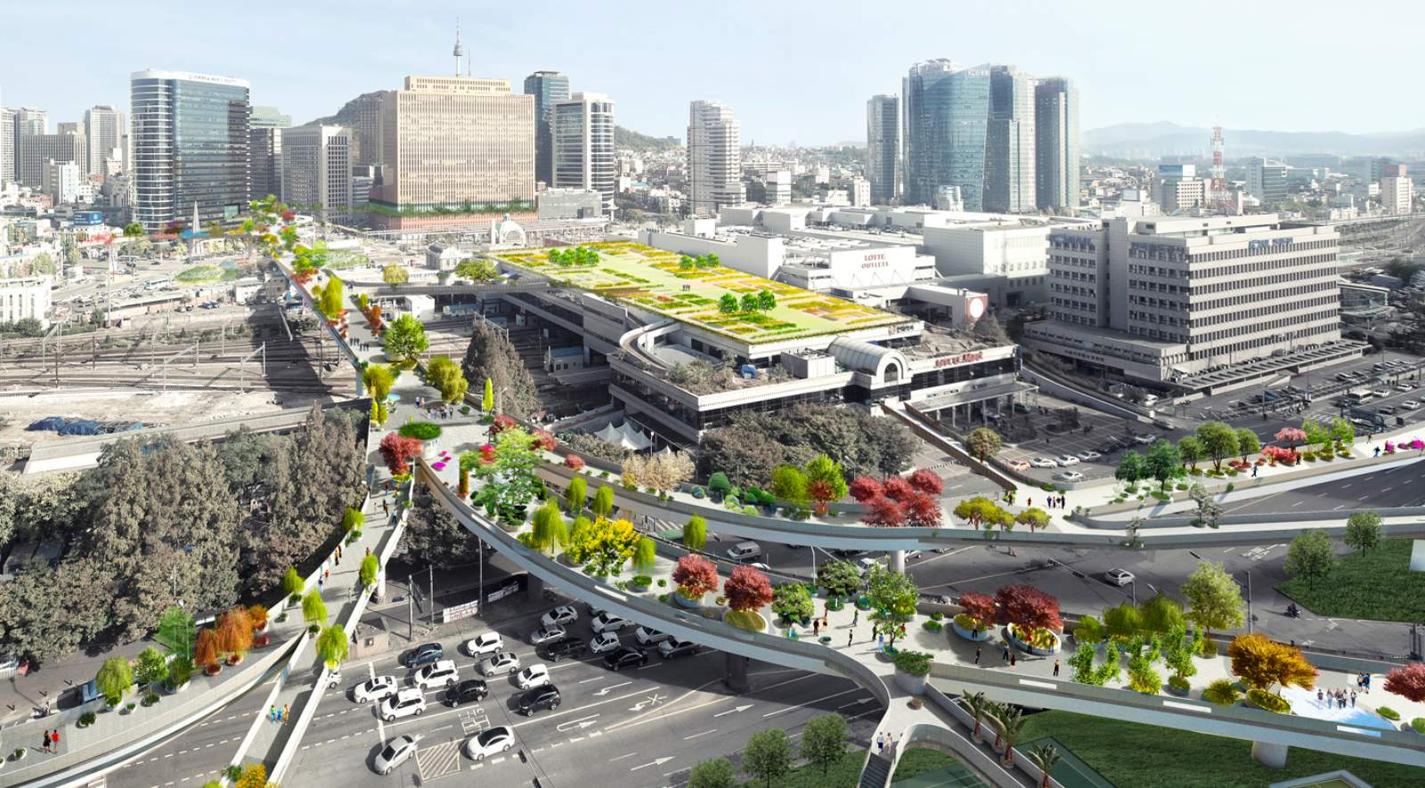 Interior Space Planning Mvrdv Wins Competition For Seoul Skygarden A As Architecture