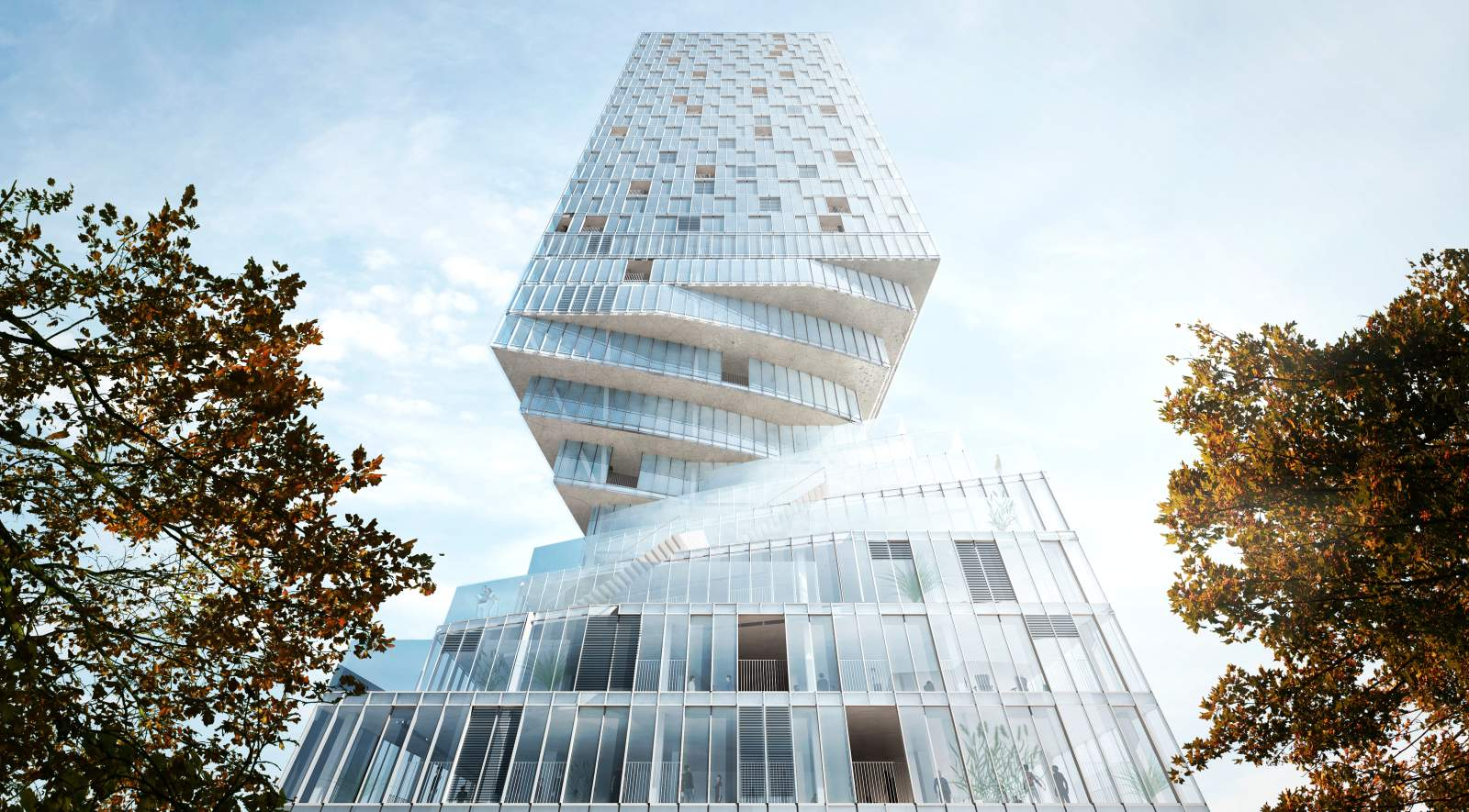MVRDV wins tower competition in Vienna