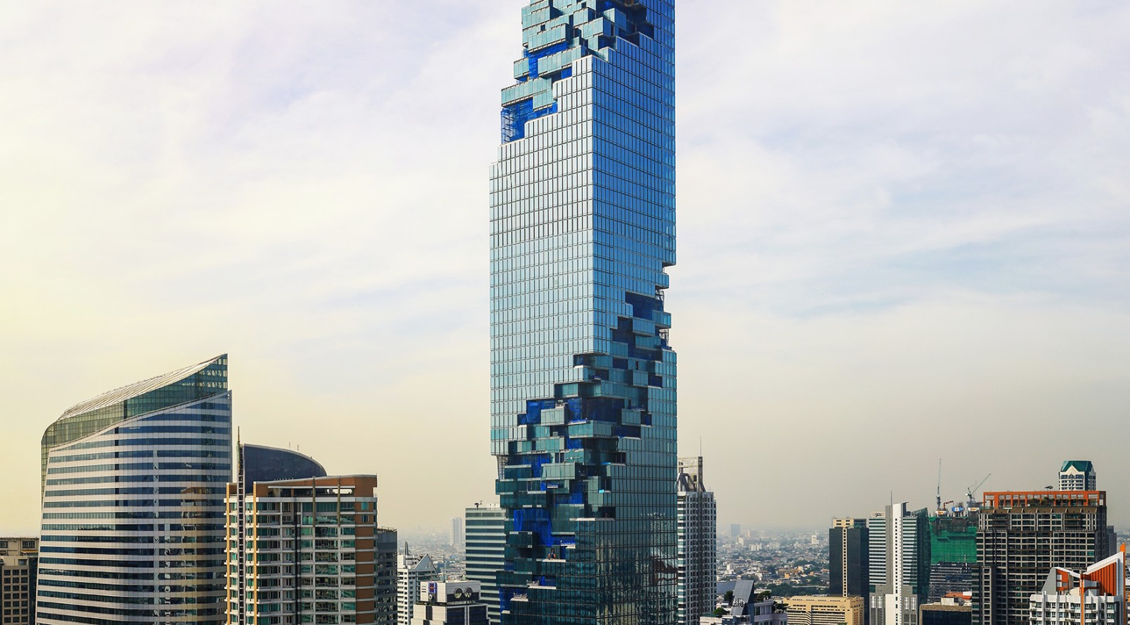 Mahanakhon by buro ole scheeren group for Architecture buro
