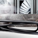 Malea Coffee Table and Volta Bench by Zaha Hadid Design for Citco