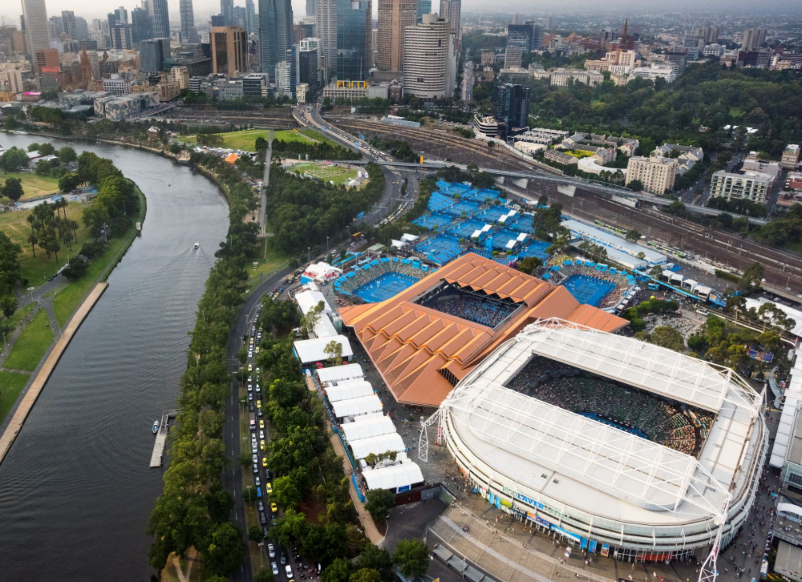 Melbourne and Olympic Parks Masterplan