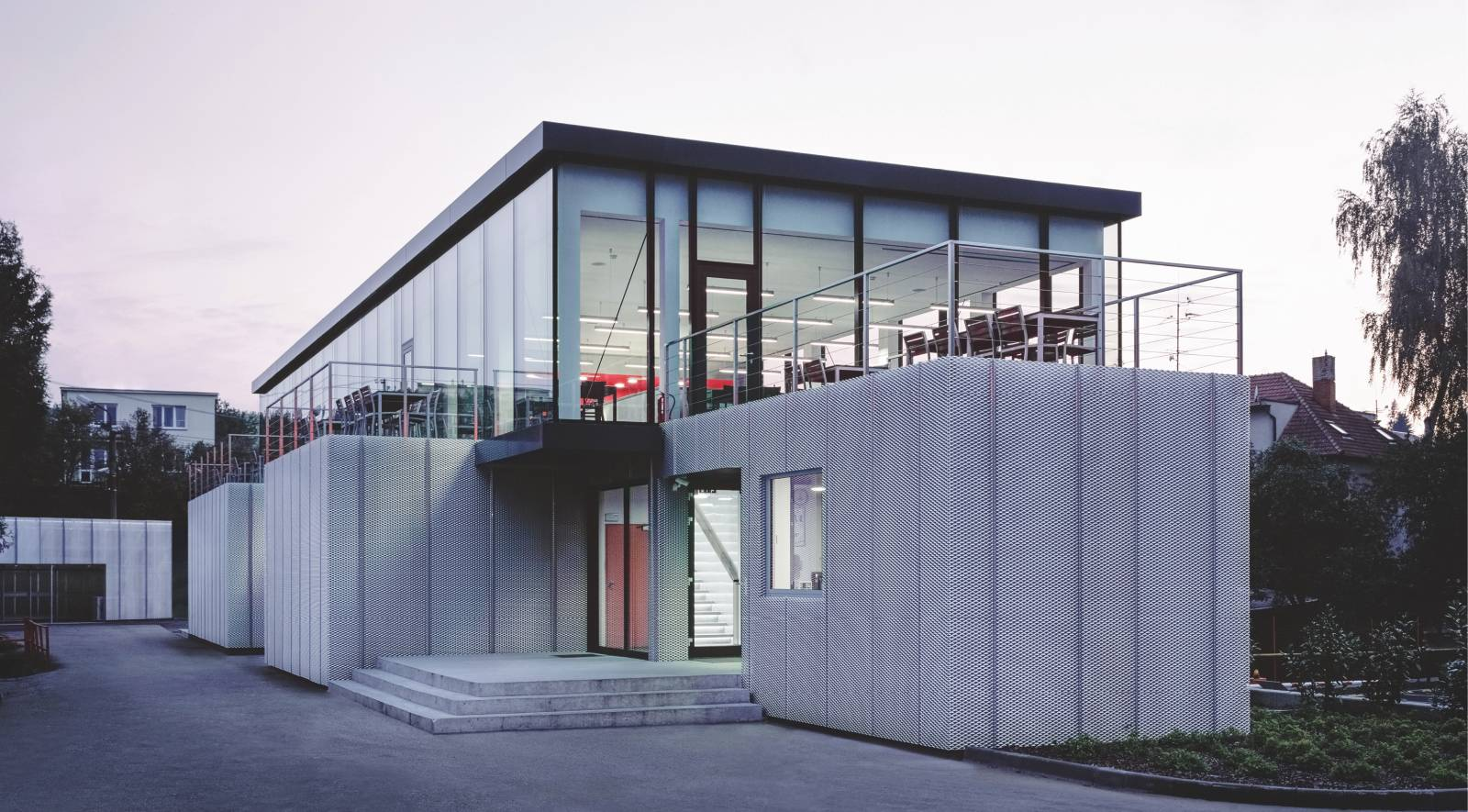 Modular Cafeteria in Vizovice
