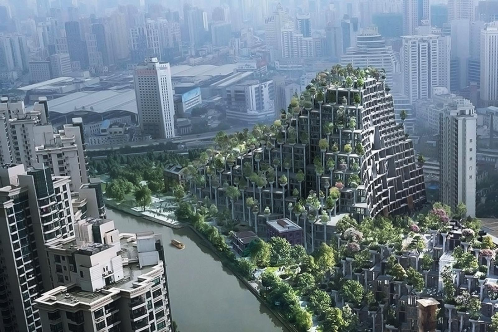 Interior Column Designs Moganshan China By Heatherwick Studio 02 A As Architecture