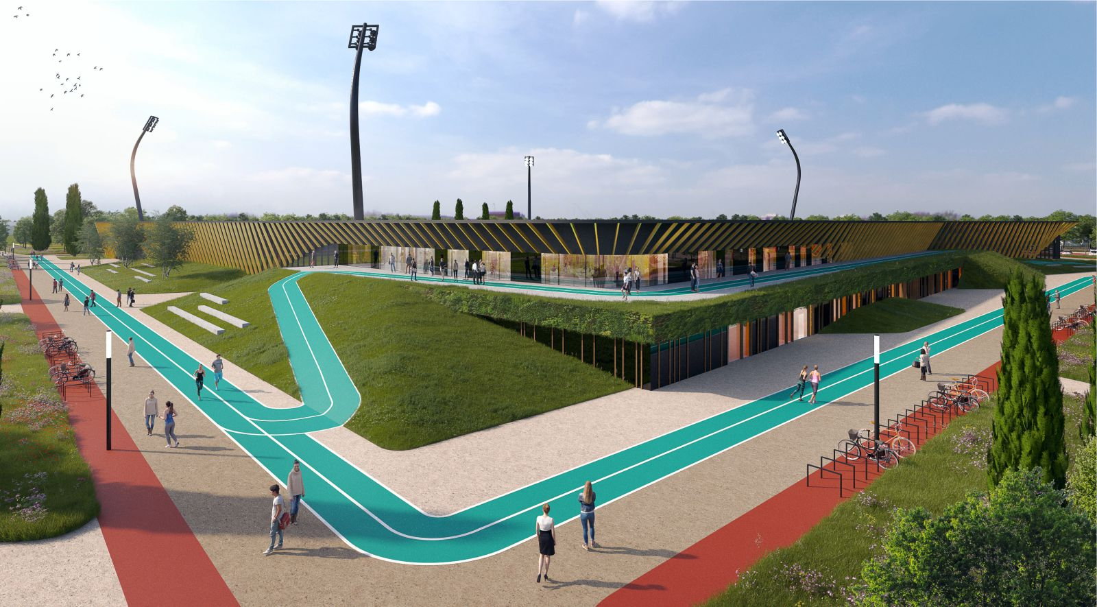 stadium in Helmond