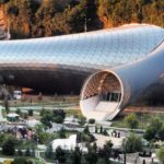Music Theatre and Exhibition Hall in Rhike Park by Studio Fuksas