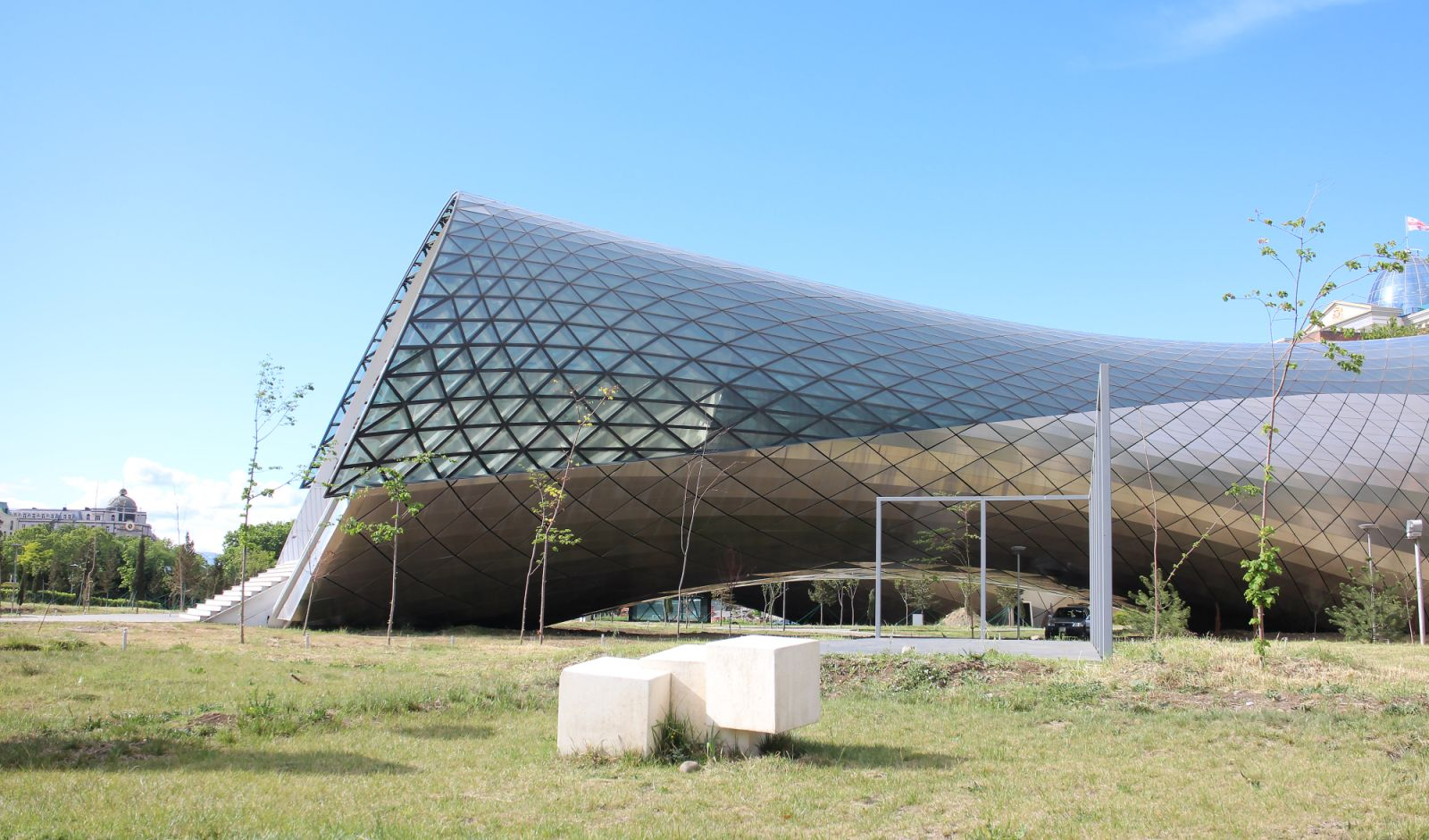 Music Theatre and Exhibition Hall in Rhike Park