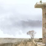 NEXT wins competiton with a wooden watchtower on the Belgian Coast