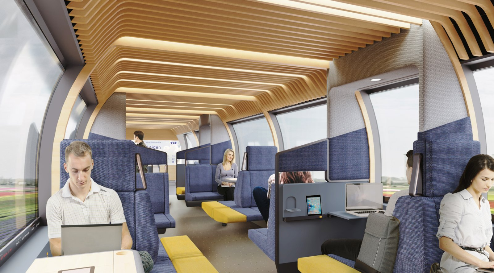 NS Vision interior train