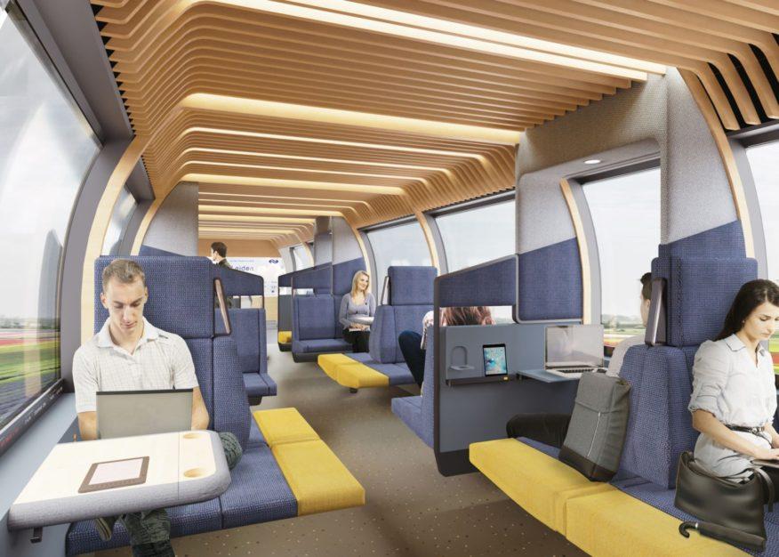 NS Vision interior train