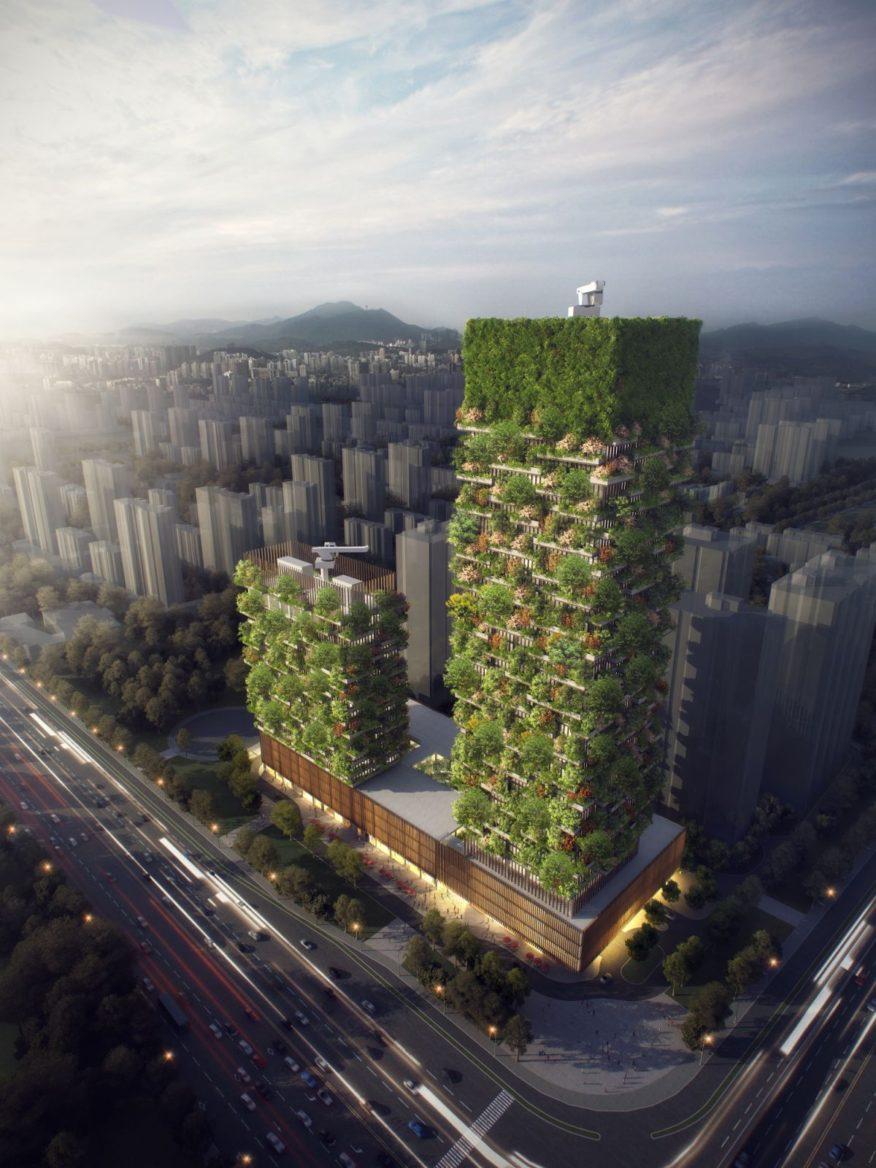 Nanjing Vertical Forest