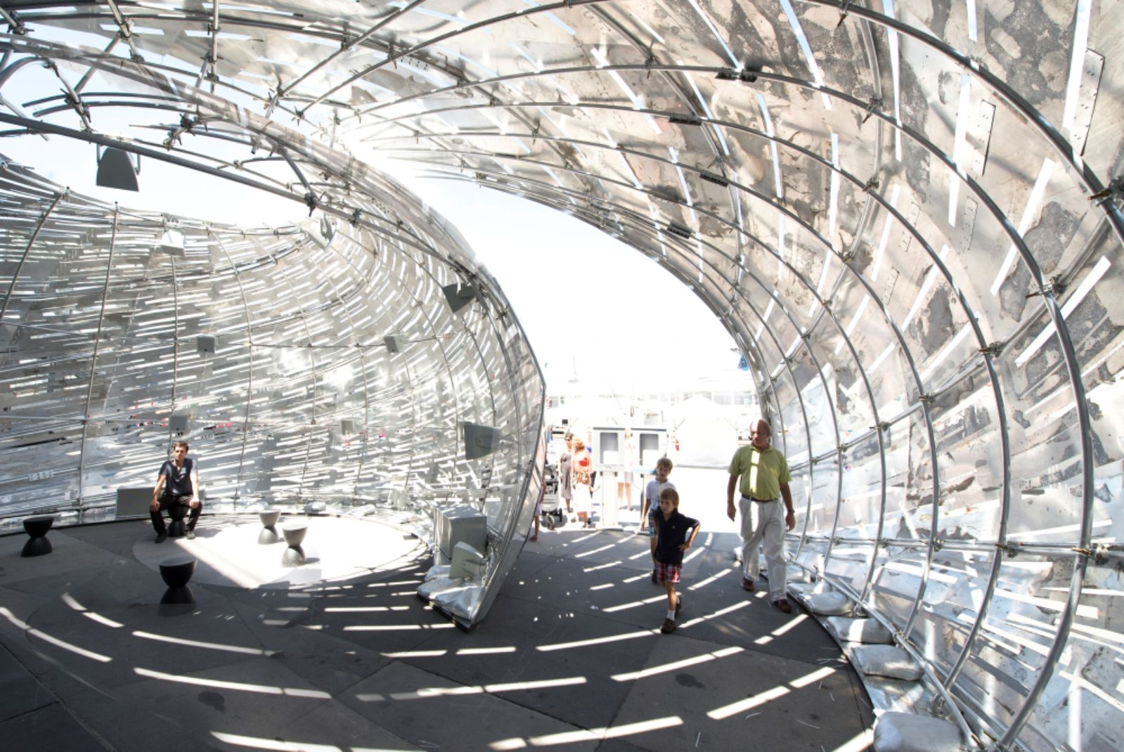Nasa orbit pavilion by studiokca 10 for Nasa architecture