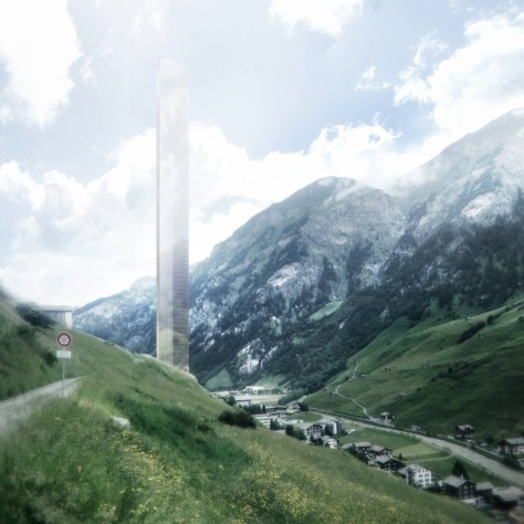 New 7132 Hotel and Arrival in Switzerland