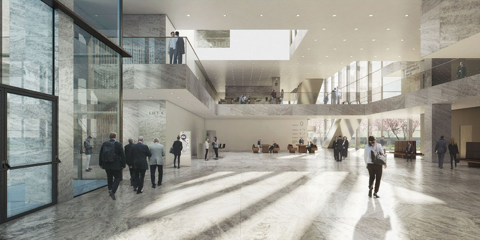 New amsterdam courthouse by kaan architecten 05 for Interieur architect amsterdam