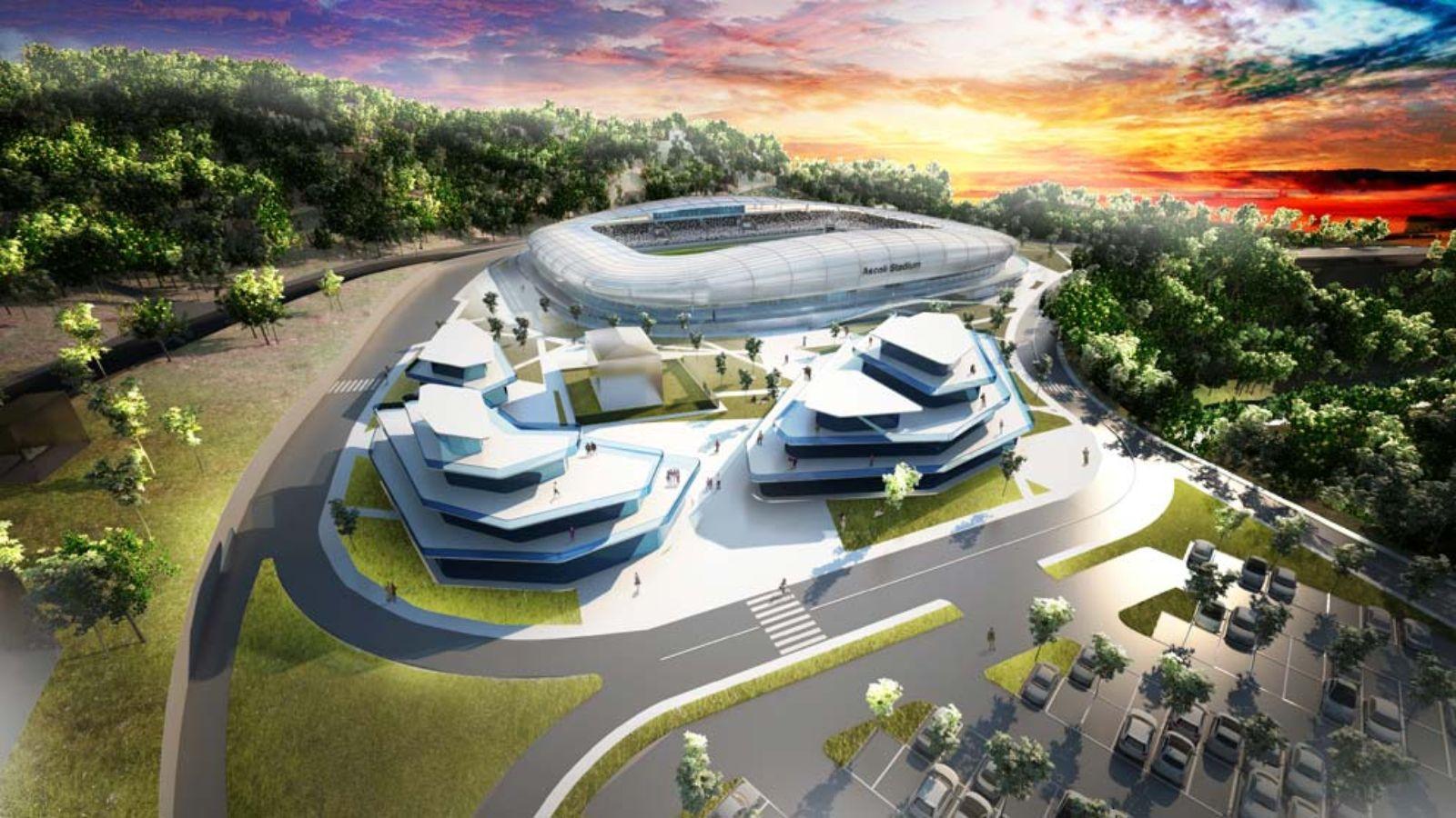 New Ascoli Stadium