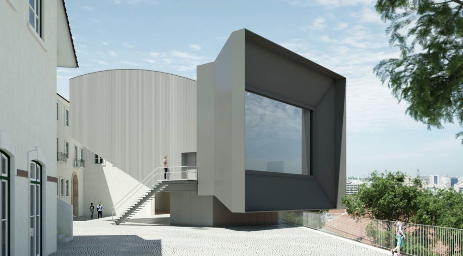 New auditorium of santa casa da miseric rdia by eduardo for Da architecture