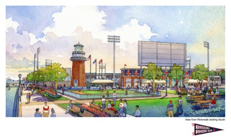 New Ballpark in Downtown Providence