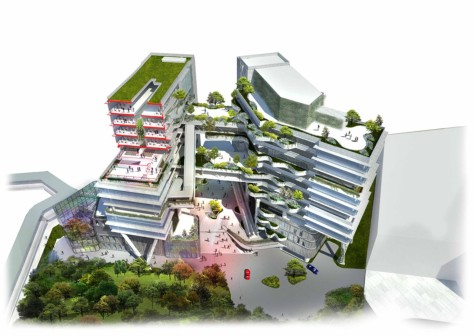 New Campus for the Technological and Higher Education Institute
