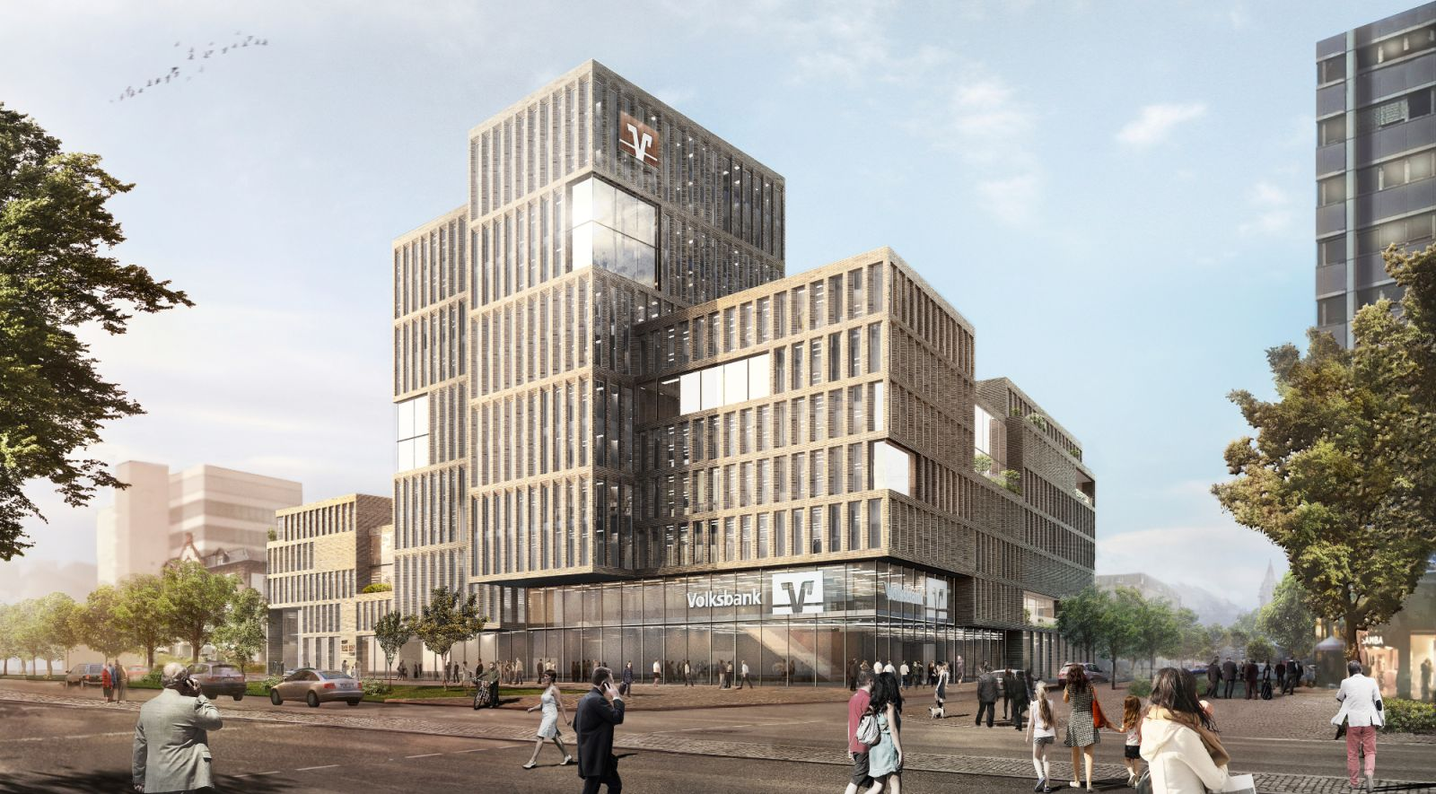 New Headquarter for Volksbank