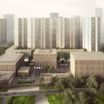 Proposal for the new Longhua Art Museum and Library in Shenzhen by mecanoo