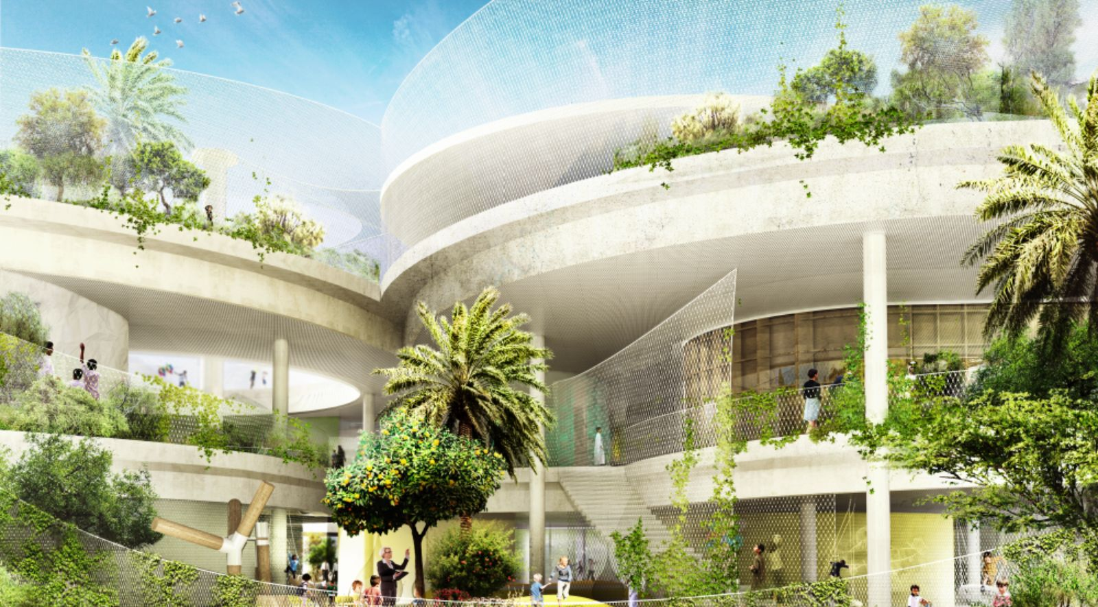 New sustainable school in the united arab emirates by for Home of architecture uae