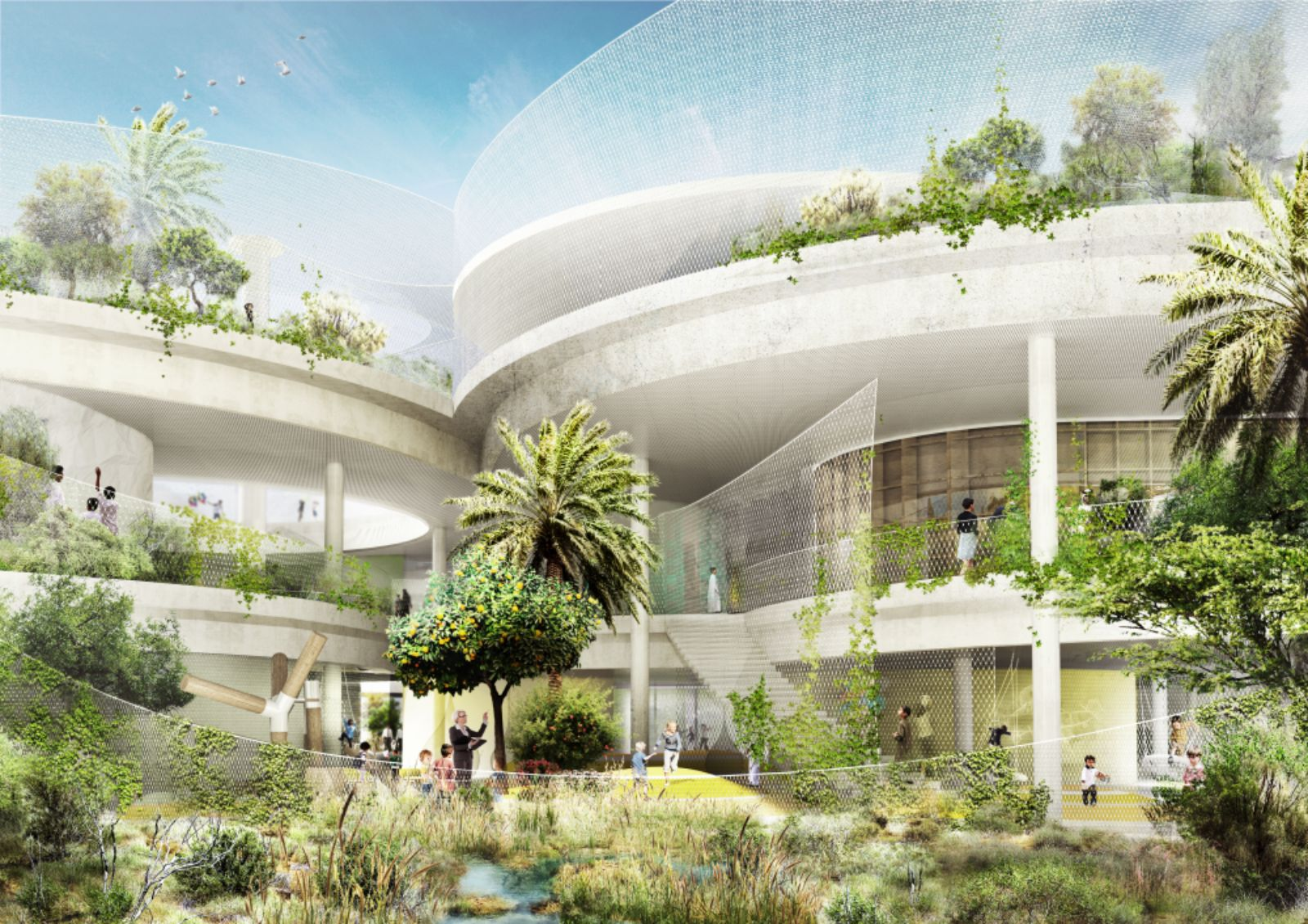 New Sustainable School In The United Arab Emirates By
