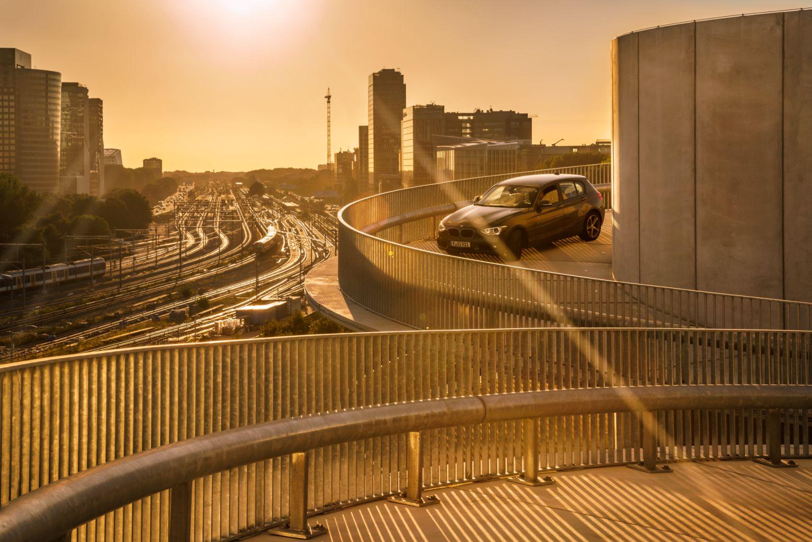 New Swirling Car Park for Rai Amsterdam