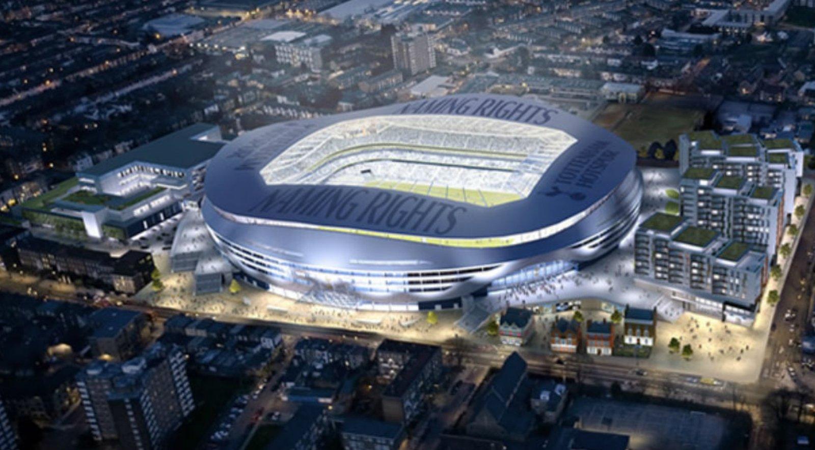 New Tottenham Stadium Aasarchitecture