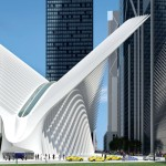 New WTC Terminal Station for Path Service by Santiago Calatrava